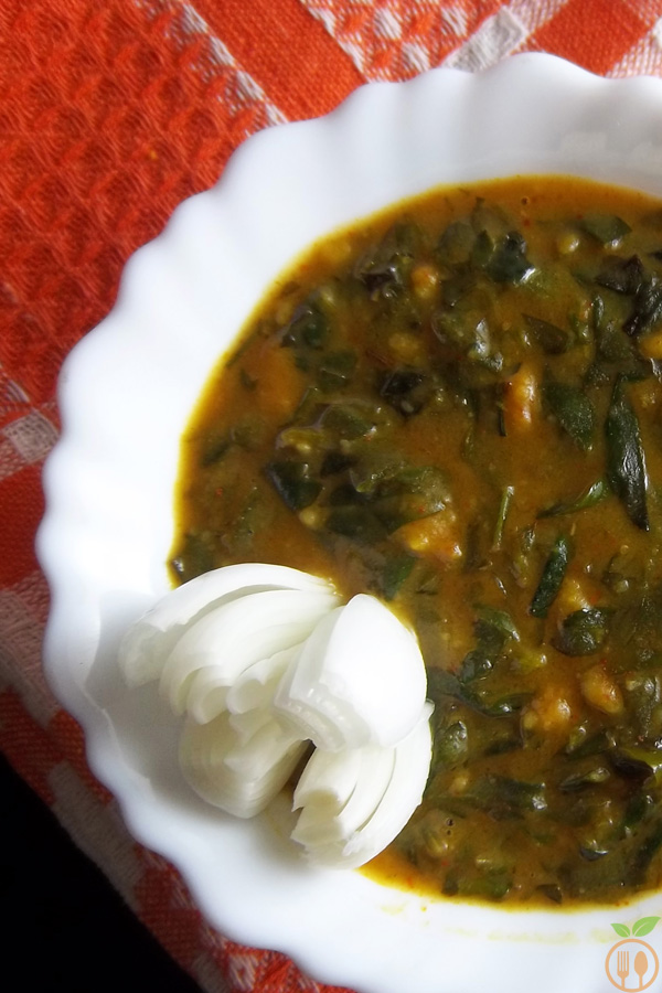 Fresh Methi Leaves Curry Recipe