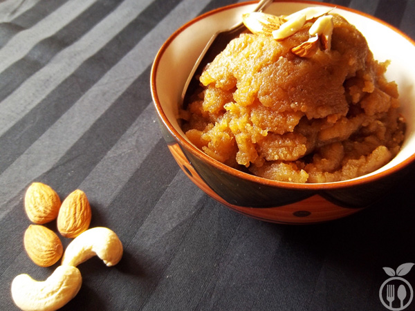 Whole Wheat Flour Halwa