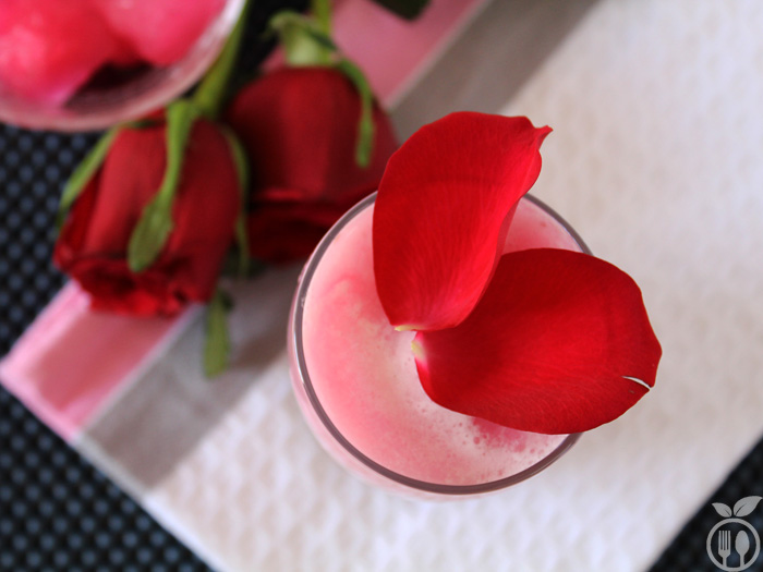 Rose Milk Recipe