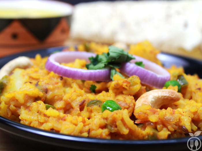 Vegetable Masala Khichdi
