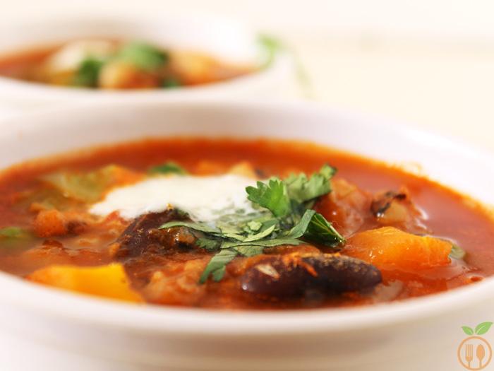 Mixed Bean Soup Recipe