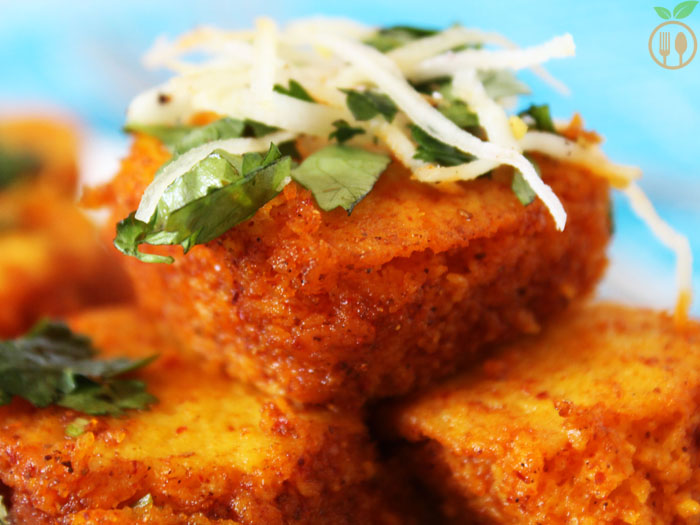 Spicy khaman dhokla recipe veggie food recipes spicy khaman dhokla forumfinder Image collections