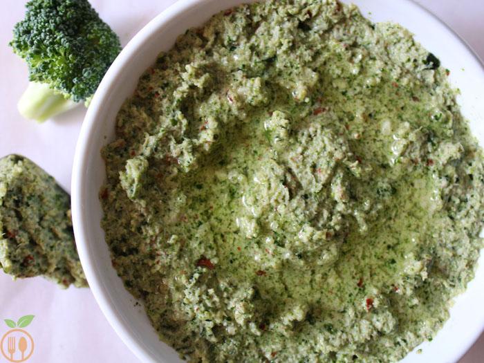 Broccoli Peanuts Pesto