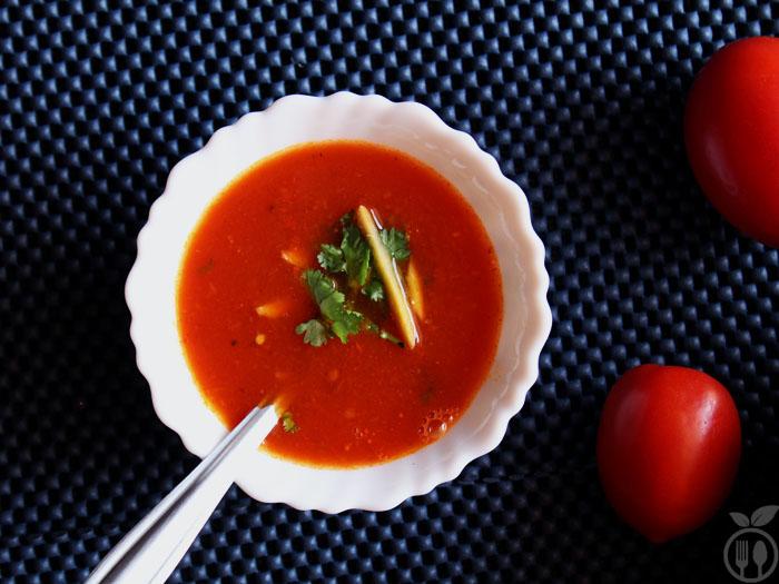 Easy Tomato Soup | No Onion No Garlic Recipe