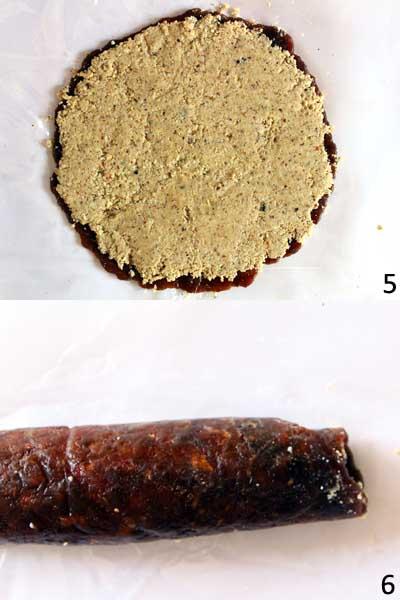 Easy Vegan Date Roll Recipe | Sugar- free and Gluten-free Dessert Recipe