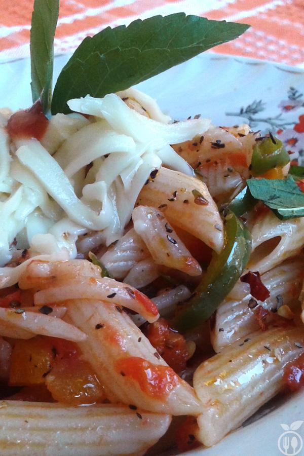 Tangy Cheese Tomato Pasta