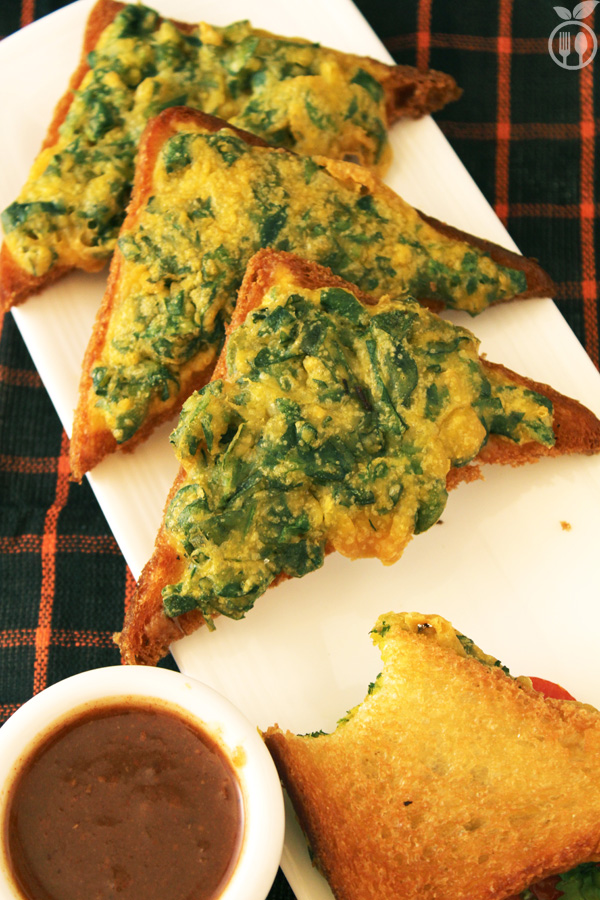 Fenugreek Toasts (Methi Toasts)