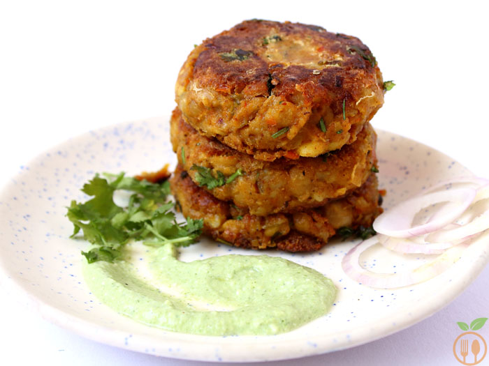 Chickpea Patties Recipe