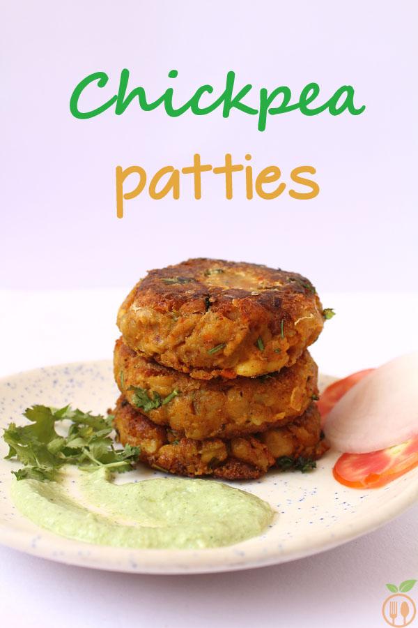 Chickpea Patties Recipe