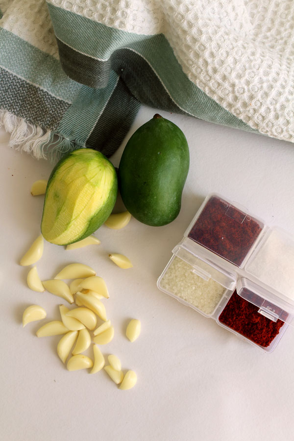 Hot & Spicy Garlic Mango Chutney (My Secret Ingredient)