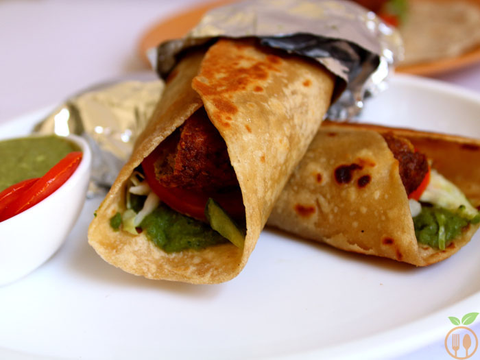 Vegan Falafel Wrap Recipe