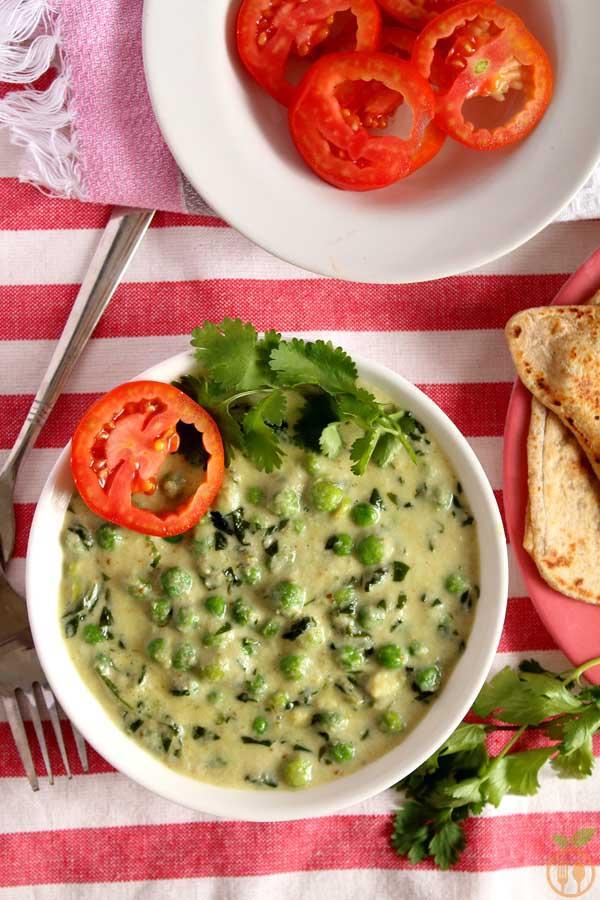 Best Ever Restaurant Style Methi Matar Malai