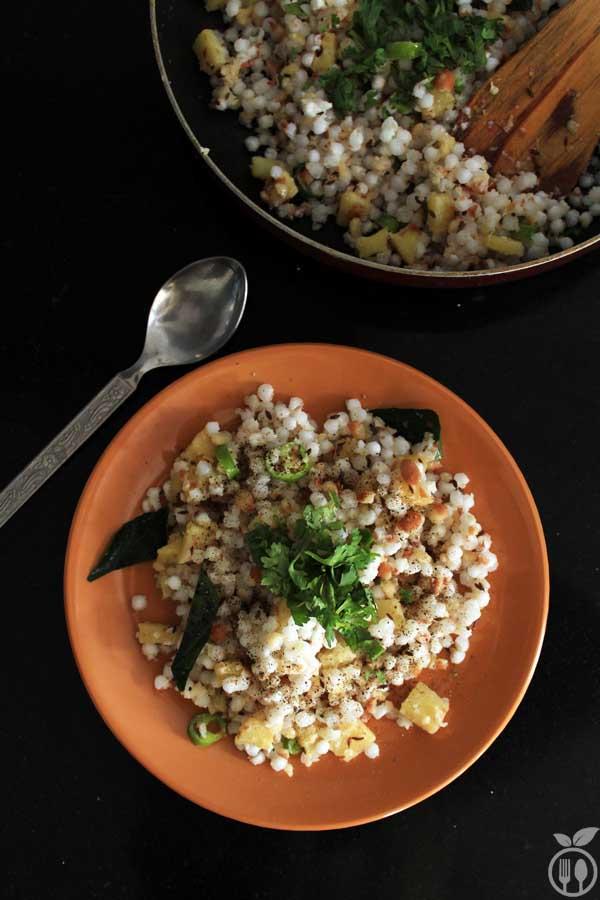 Sabudana Khichdi Recipe | Vrat Recipes