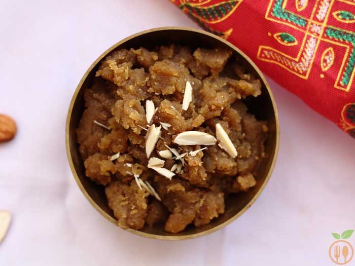 Wheat Halwa Recipe | Atta halwa