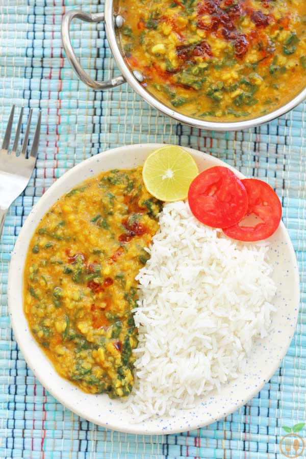 Dal Palak Recipe | How To Make Spinach Dal