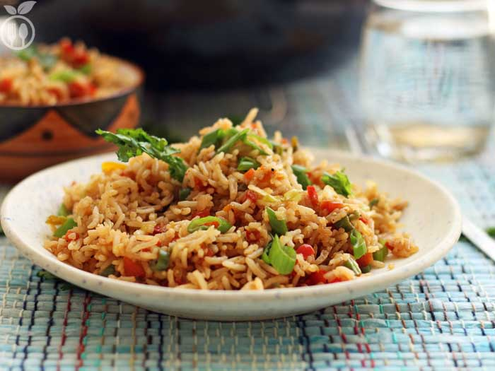Vegetable Fried Rice Recipe | How to make easy Chinese Veg Fried Rice