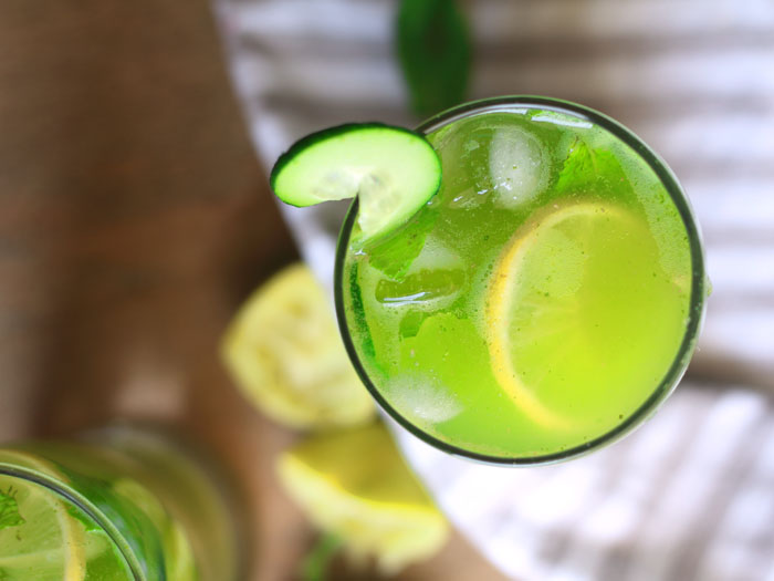 Cucumber Lemonade | how to make Cucumber Mint Lemonade