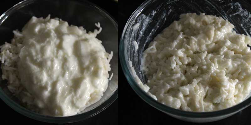 Curd Rice Recipe | South Indian Style Curd Rice