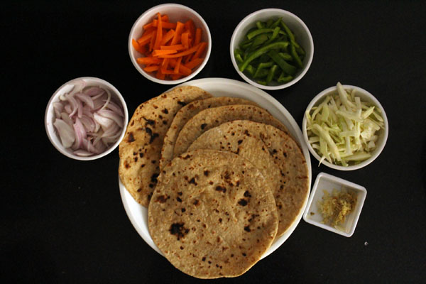 Chapati Noodle Recipe | Leftover Chapati Recipes
