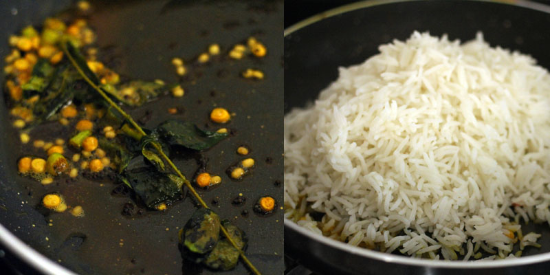 Mint Lemon Rice Recipe | How To Make Easy South Indian Lemon Rice