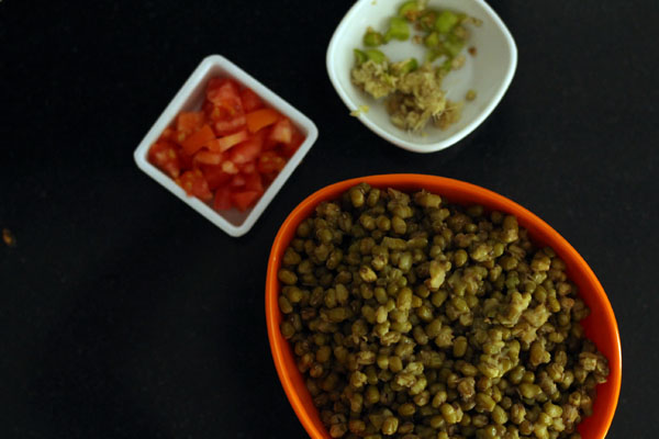 Whole Green Moong Dal Recipe Without Onion and Garlic